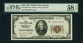 Fr. 1870-I $20 1929 Federal Reserve Bank Note. PMG Choice About Unc 58 EPQ