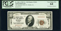 Serial Number 1 Mobile, AL - $10 1929 Ty. 1 The American National Bank & Trust Company Ch. # 13414 PCGS Very Choice...