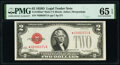 Small Size:Legal Tender Notes, Fr. 1505* $2 1928D Mule Legal Tender Star Note. PMG Gem Uncirculated 65 EPQ.. ...