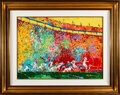 Football Collectibles:Others, 1972 Super Bowl VI Original Painting by LeRoy Neiman....