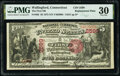 Wallingford, CT - $5 1875 Fr. 405 The First National Bank Ch. # 2599 PMG Very Fine 30