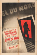 """Movie Posters:Foreign, Hotel du Nord (SEDIF, R-1940s). Folded, Fine. French Half Grande (31.5"""" X 47.25"""") Richman Artwork. Foreign.. ..."""