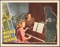 """Movie Posters:Horror, The Invisible Man's Revenge (Universal, 1944). Fine/Very Fine. Lobby Card (11"""" X 14""""). Horror.. ..."""