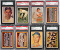 Baseball Cards:Lots, 1957 Topps Baseball Graded Collection (32) with Hall of Fa...