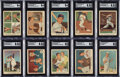 Baseball Cards:Sets, 1959 Fleer Ted Williams High-Grade Complete Set (80) With ...