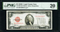 Small Size:Legal Tender Notes, Fr. 1505 $2 1928D Non-Mule Legal Tender Note. B-A Block. P...