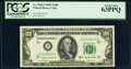 Small Size:Federal Reserve Notes, Fr. 2160-J $100 1950C Federal Reserve Note. PCGS Choice New 63PPQ.. ...
