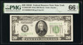 Small Size:Federal Reserve Notes, Fr. 2058-B $20 1934D Wide Federal Reserve Note. PMG Gem Uncirculated 66 EPQ.. ...