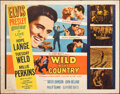 """Wild in the Country (20th Century Fox, 1961). Rolled, Fine. Half Sheet (22"""" X 28""""). Elvis Presley"""