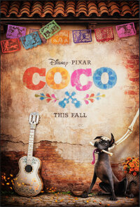 """Coco (Walt Disney Pictures, 2017). Rolled, Very Fine+. One Sheet (27"""" X 40"""") DS Advance. Animation"""