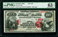 Newark, OH - $10 1875 Fr. 419 The First National Bank Ch. # 858 PMG Choice Uncirculated 63 EPQ