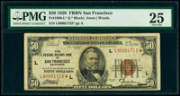 Fr. 1880-L* $50 1929 Federal Reserve Bank Star Note. PMG Very Fine 25