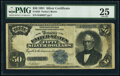 Large Size:Silver Certificates, Fr. 335 $50 1891 Silver Certificate PMG Very Fine 25.. ...