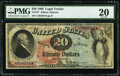 Large Size:Legal Tender Notes, Fr. 127 $20 1869 Legal Tender PMG Very Fine 20.