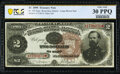 Large Size:Treasury Notes, Fr. 353 $2 1890 Treasury Note PCGS Banknote Very Fine 30 P...