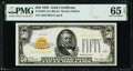 Small Size:Gold Certificates, Fr. 2404 $50 1928 Gold Certificate. PMG Gem Uncirculated 6...