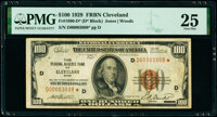 Fr. 1890-D* $100 1929 Federal Reserve Bank Star Note PMG Very Fine 25