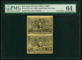 Fractional Currency:Second Issue, Similar to Milton 2E25F.3a 25¢ Second Issue Olier Paper PMG Choice Uncirculated 64.. ...