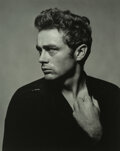 Photographs, Roy Schatt (American, 1909-2002). James Dean (from Torn Sweater series), 1954. Gelatin silver print, printed later. 18 x...