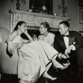 Photographs, Slim Aarons (American, 1916-2006). Park Avenue Party: Slim Hawks, Diana Vreeland, and Reed Vreeland at Kitty Miller's New ...