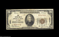 National Bank Notes:Oklahoma, Ponca City, OK - $20 1929 Ty. 1 First NB Ch. # 9801