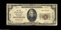 National Bank Notes:Oklahoma, Prague, OK - $20 1929 Ty. 1 The First NB Ch. # 7177