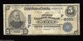 National Bank Notes:Oregon, Burns, OR - $5 1902 Plain Back Fr. 598 The First NB Ch....