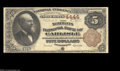 National Bank Notes:Pennsylvania, Carlisle, PA - $5 1882 Brown Back Fr. 471 The Merchants ...