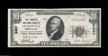 National Bank Notes:Pennsylvania, Claysville, PA - $10 1929 Ty. 1 The Farmers NB Ch. # ...