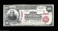 National Bank Notes:Pennsylvania, Coalport, PA - $10 1902 Red Seal Fr. 613 The First NB ...