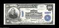 National Bank Notes:Pennsylvania, Coalport, PA - $10 1902 Plain Back Fr. 624 The First NB
