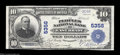National Bank Notes:Pennsylvania, East Brady, PA - $10 1902 Plain Back Fr. 633 The Peoples ...