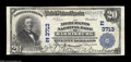 National Bank Notes:Pennsylvania, Harrisburg, PA - $20 1902 Plain Back Fr. 652 The ...