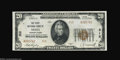 National Bank Notes:Pennsylvania, Media, PA - $20 1929 Ty. 2 The First NB Ch. # 312