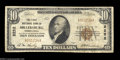 National Bank Notes:Pennsylvania, Millersburg, PA - $10 1929 Ty. 1 The First NB Ch. # ...