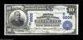 National Bank Notes:Pennsylvania, Olyphant, PA - $10 1902 Date Back Fr. 618 First NB Ch. ...