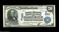National Bank Notes:Pennsylvania, Pittsburgh, PA - $20 1902 Plain Back Fr. 656 The First-...