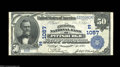 National Bank Notes:Pennsylvania, Pittsburgh, PA - $50 1902 Date Back Fr. 667 The Exchange ...