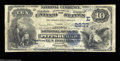 National Bank Notes:Pennsylvania, Pittsburgh, PA - $10 1882 Date Back Fr. 542 The Marine ...