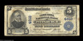 National Bank Notes:Pennsylvania, Pittsburgh, PA - $5 1902 Plain Back Fr. 603 The Columbia ...