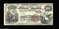 National Bank Notes:Pennsylvania, Pittsburgh, PA - $10 1882 Brown Back Fr. 490 The Bank of ...