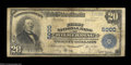 National Bank Notes:Pennsylvania, Wilmerding, PA - $20 1902 Plain Back Fr. 657 First NB ...