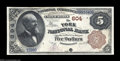 National Bank Notes:Pennsylvania, York, PA - $5 1882 Brown Back Fr. 467 The York NB Ch. #...
