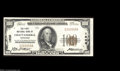 National Bank Notes:Tennessee, Chattanooga, TN - $100 1929 Ty. 1 The First NB Ch. # ...