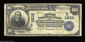 National Bank Notes:Tennessee, Clarksville, TN - $10 1902 Date Back Fr. 617 The First ...