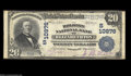 National Bank Notes:Tennessee, Elizabethton, TN - $20 1902 Plain Back Fr. 658 The ...