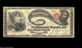 National Bank Notes:Tennessee, Franklin, TN - $2 Original Fr. 389 The NB of Franklin ...