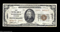 National Bank Notes:Tennessee, Harriman, TN - $20 1929 Ty. 2 The First NB Ch. # 12031
