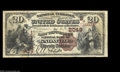 National Bank Notes:Tennessee, Knoxville, TN - $20 1882 Brown Back Fr. 499 The East ...