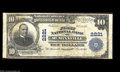 National Bank Notes:Tennessee, McMinnville, TN - $10 1902 Plain Back Fr. 631 The First ...